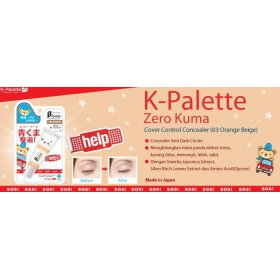 K-PALETTE - Zero Kuma - Cover Control Concealer (03 Orange Beige)
