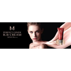 M Perfect Cover BB Cream SPF42 PA+++ (No 23-Natural Beige)