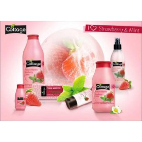 Shower Gel - Strawberry & Mint (750ml)