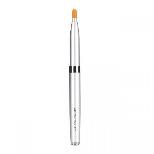 BP-502 travel lip/ Retractable Silver Brush