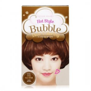 Hot Style Bubble Hair Coloring (Dark Brown)