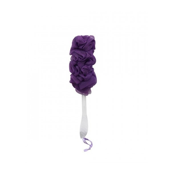Kay Bath - Bath Sponge With Handle (Purple)