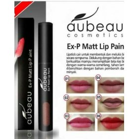 Ex-P Matt Lip Paint - 04 Chocolate Nude