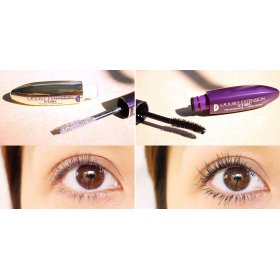 Mascara Double Extension Curl + Super Liner Ultra Sharp