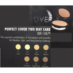 Perfect Cover Two Way Cake - Lace (01)