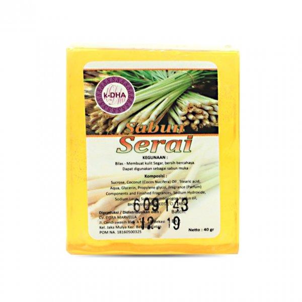 K-DHA Soap - Sabun Timun (40gr)