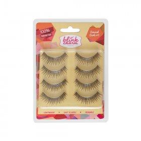 Eyelashes Sensual Curls 1 (Isi 4 Pasang)