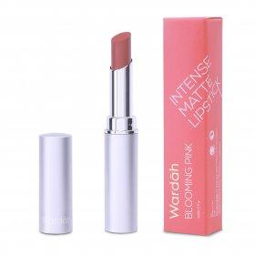 Wardah Intense Matte Lipstick (#06 Blooming Pink)