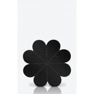137 Flower Sponge Black