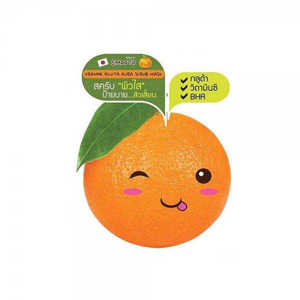 Orange Gluta Aura Scrub Mask (8ml)