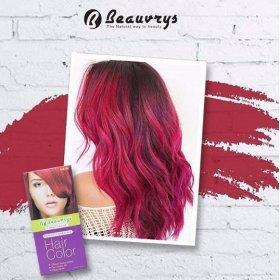 Hair Color Cream Splendid Red