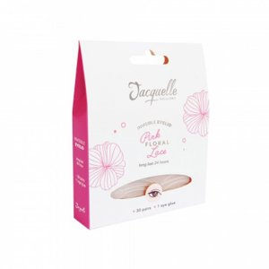Invisible Eyelid - Pink Floral Lace Full Pack