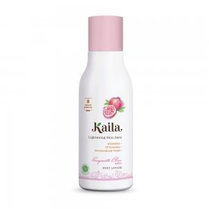 Lightening Skin Care Body Lotion - Pomegranate Bliss Scent (100ml)