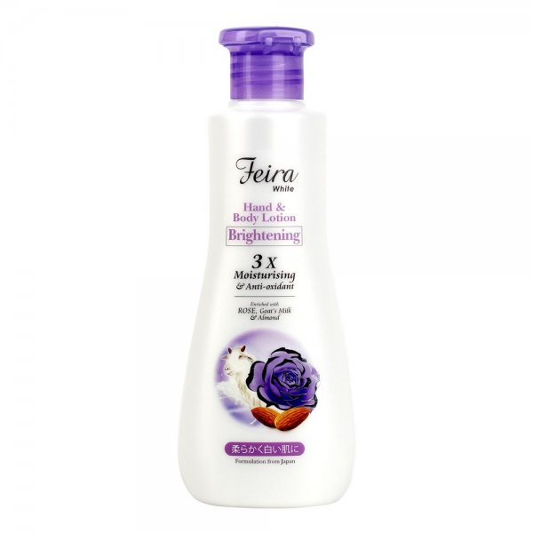 White Rose + Almond Hand & Body Lotion (300ml)