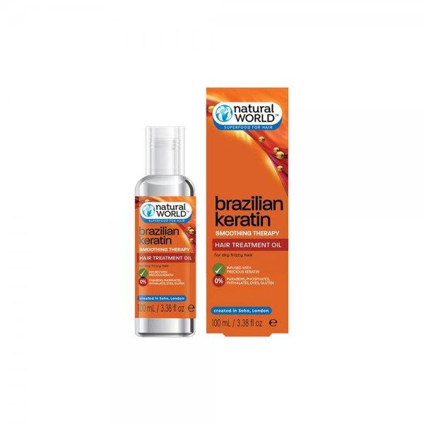 Brazilian Keratin Hair Treatment Oil (100ml)