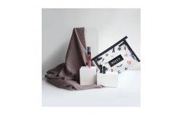 Mizzu x Vanilla Hijab Set (Rava - Ash Brown)