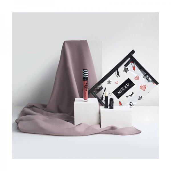 Mizzu x Vanilla Hijab Set (Edina - Dark Purple)