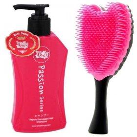 La Rose Paket Sisir: 1 Shampoo + 1 Sisir Cherubim Hitam
