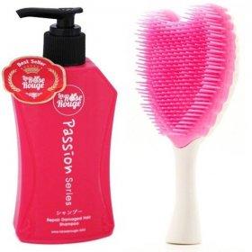 La Rose Paket Sisir: 1 Shampoo + 1 Sisir Cherubim Putih