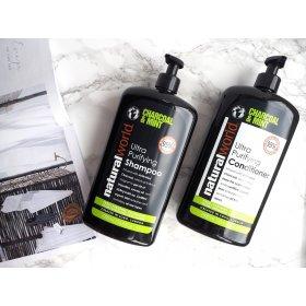 Charcoal & Mint Ultra Purifying Shampoo (500ml)