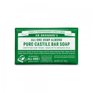 Pure Castile Bar Soap Almond (140gr)