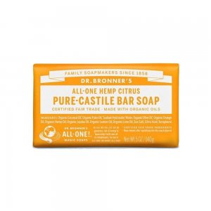 Pure Castile Bar Soap Citrus (140gr)