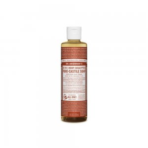Pure Castile Liquid Soap Eucalyptus (237ml)