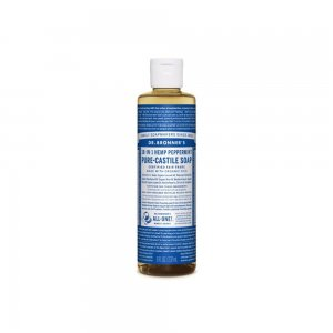 Pure Castile Liquid Soap Peppermint (237ml)