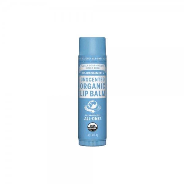 Organic Lip Balm Unscented (4gr)