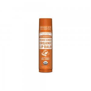 Organic Lip Balm Orange Ginger (4gr)