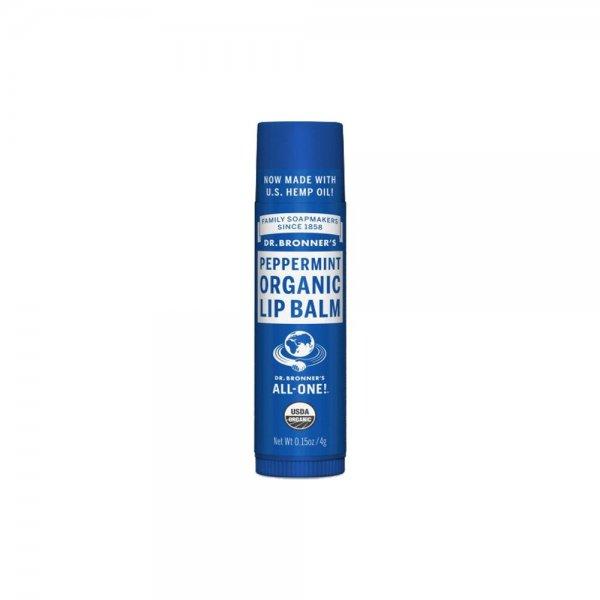 Organic Lip Balm Peppermint (4gr)
