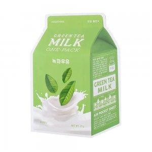 Green Tea Milk One Pack Sheet Mask (21gr)