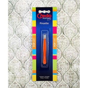Credo Solingen Pinset Miring Orange