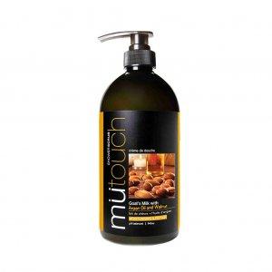 Goat's Milk Shower Scrub - Argan Oil and Walnut (940ml)
