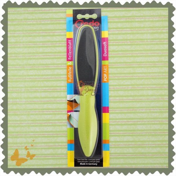 Credo Solingen Foot File Duo Green