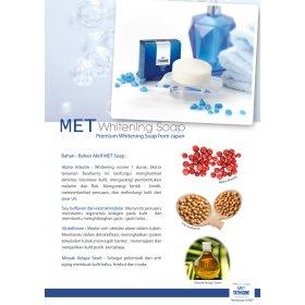 MET Whitening Soap