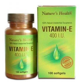 Vitamin E 400 IU (100 Softgels)