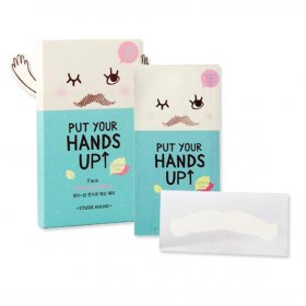 Hands-up Face Waxing Patch (10 pcs)