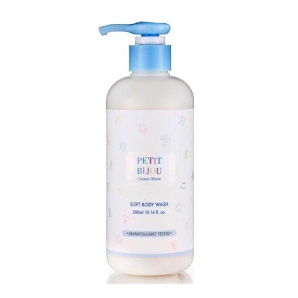 Petit Bijou Cotton Snow Soft Body Wash